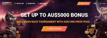 CasinoNic Bonuses