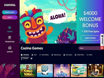 Kahuna Casino Bonus
