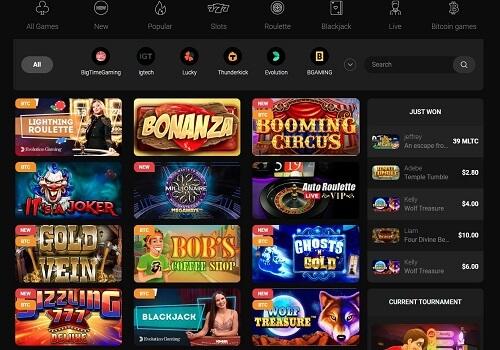 CasinoChan Games Lobby