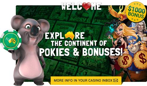 Fair Go Casino Welcome Bonus