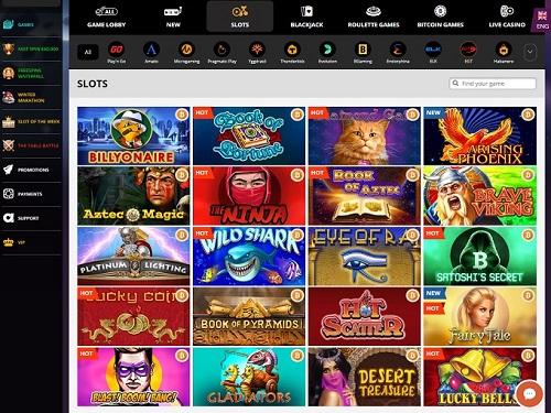 PlayAmo Casino Pokies Games